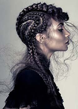 © LUKE BENSON - D&J AMBROSE HAIR COLLECTION