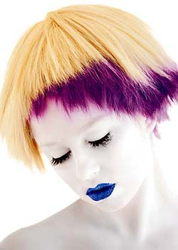 © NEVILLE RAMSAY - MILK_SHAKE USING NO INHIBITION HAIR COLLECTION