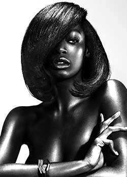 © CHARLOTTE MENSAH - HAIR LOUNGE HAIR COLLECTION