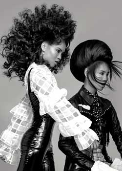 © Sam Bell  HAIR COLLECTION