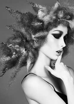 © Marcello Moccia and Karen Perry at Room 97 Creative, Wakefield and Leeds HAIR COLLECTION